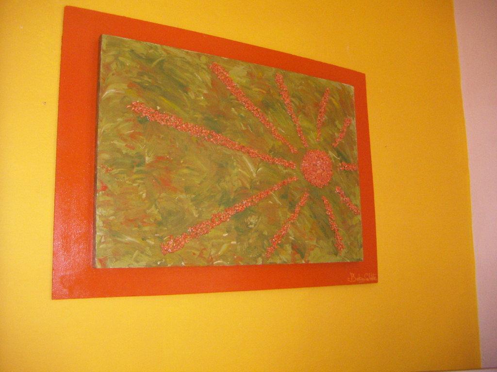 pannello-quadro moderno a rilievo