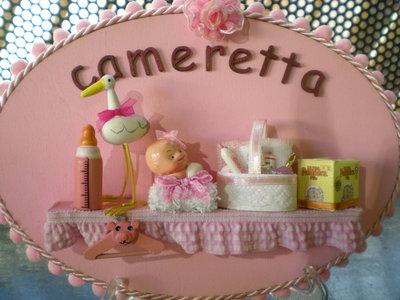 targhetta x cameretta baby