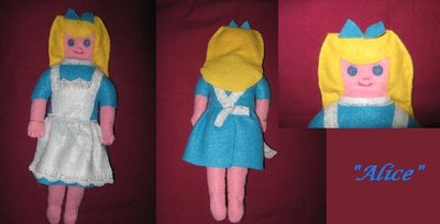 Bambola di pezza Alice