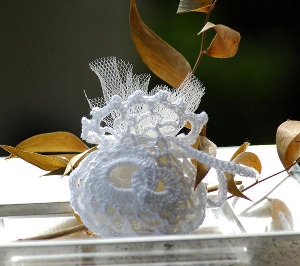 Sacchettino bomboniera (anelli)