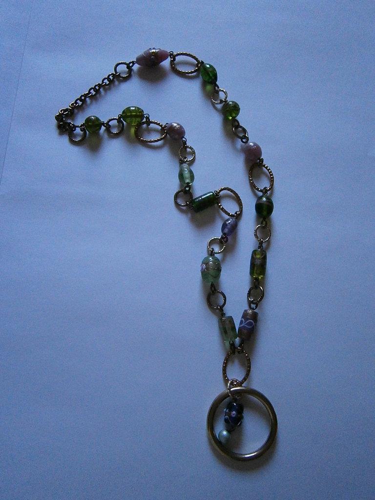 collana vetro veneziano