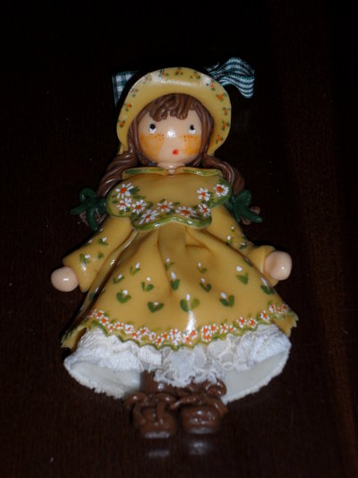 bambola in pasta al mais