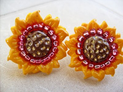 Orecchini Sunflawers