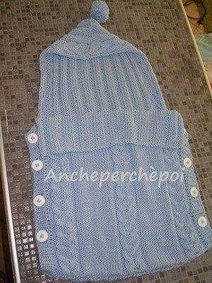 sacco nanna in lana o cotone