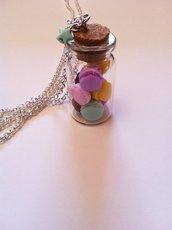 Macaroons in a jar