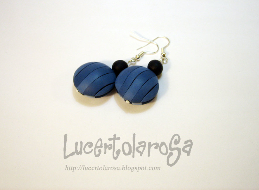 "Orecchini ""Navy""/ ""Navy"" earrings"