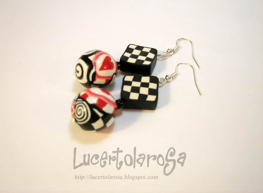 "Orecchini ""love in London""/ Earrings"