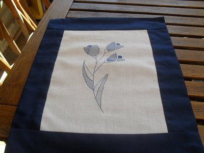 cuscino blakwork blu