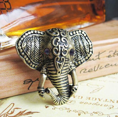 anello porta fortuna elefante