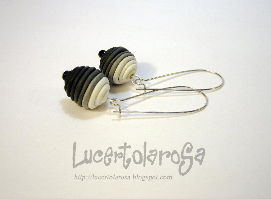 """Orecchini """"Gray scale""""/ Earrings"""