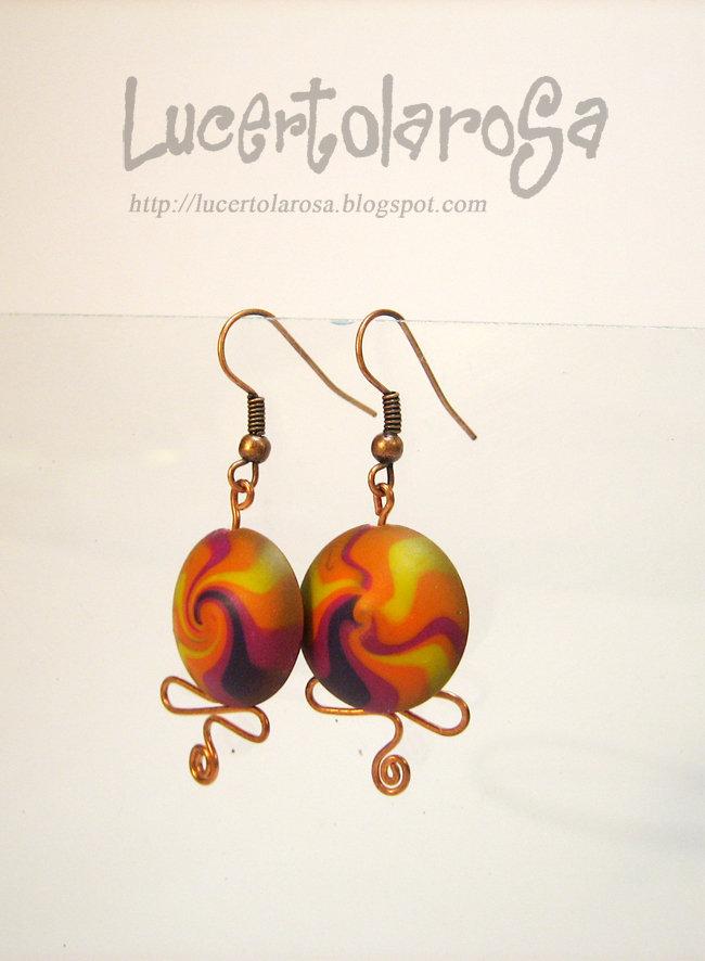 "Orecchini ""Arcobaleno africano""/ Earrings"