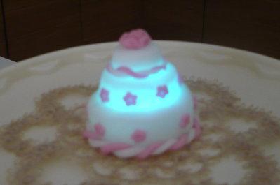 Mini wedding cake luminosa