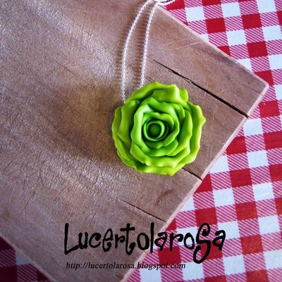 Catenina con lattuga/ lettuce necklace