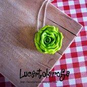 Catenina con lattuga/ lettuce necklace