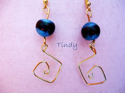Orecchini perle veneziane