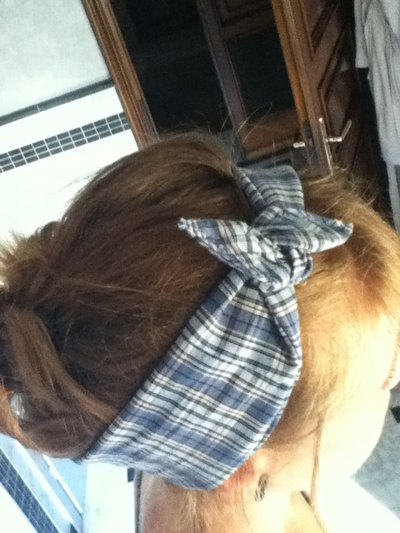 Fascia - bandana capelli stile pin up rockabilly