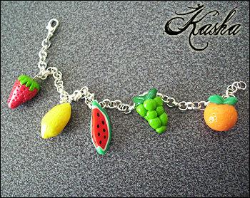 Braccialetto frutta estiva