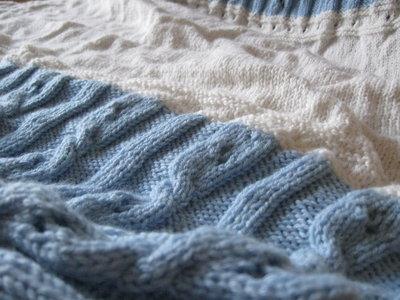 copertina di lana per culla