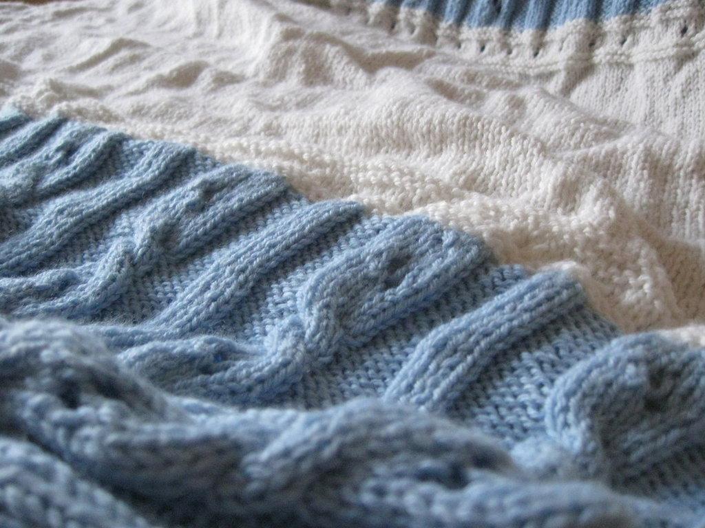 Estremamente copertina di lana per culla | su MissHobby WB93