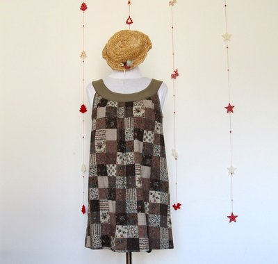 Vestito Summer Dress Coffe
