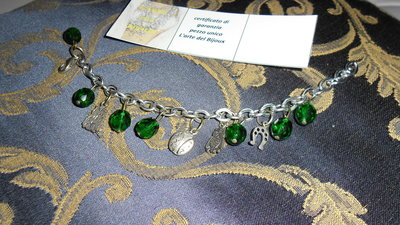 bracciale smeralda