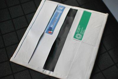 accessori porta/card  bianco vera pelle