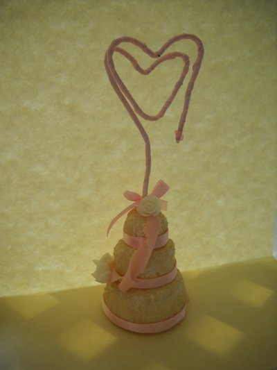 Segnaposto mini wedding cake