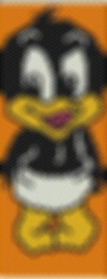 Schema Bracciale tecnica Peyote daffy duck