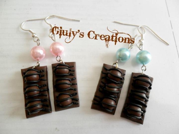Orecchini duplo con perle