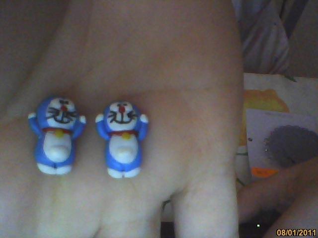 orecchini Doraemon