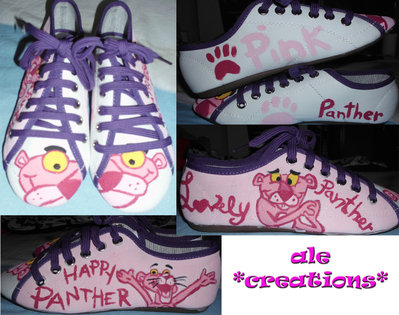 scarpe pantera rosa