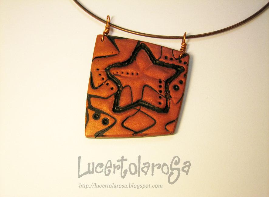 Collarino color rame/ Copper tone necklace