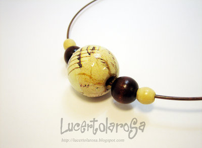 "Collarino ""Music""/ Necklace"