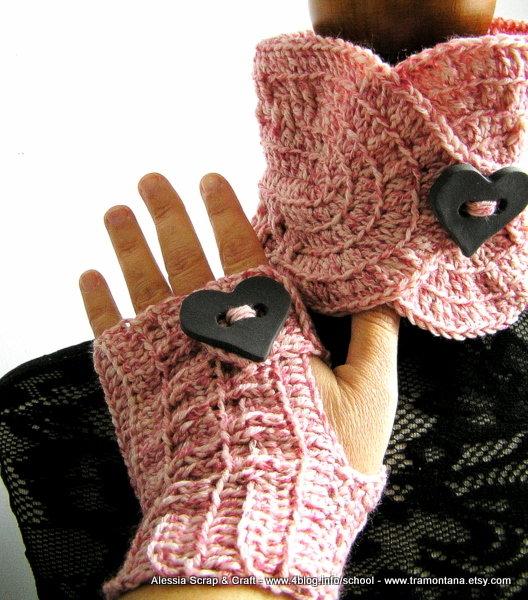 Queen of Hearts Completo a crochet - uncinetto -