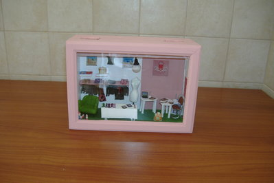 Dolls And Miniatures - Room box