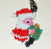 Charms x cellulare Babbo natale