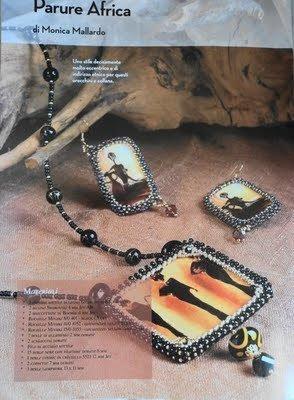 TUTORIAL PARURE AFRICA (collana e orecchini)