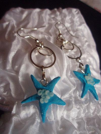 Orecchini stelle marine