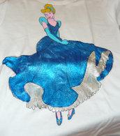Maglietta in Cotone con Cenerentola