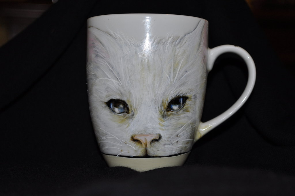 Neruda's Cat Mug