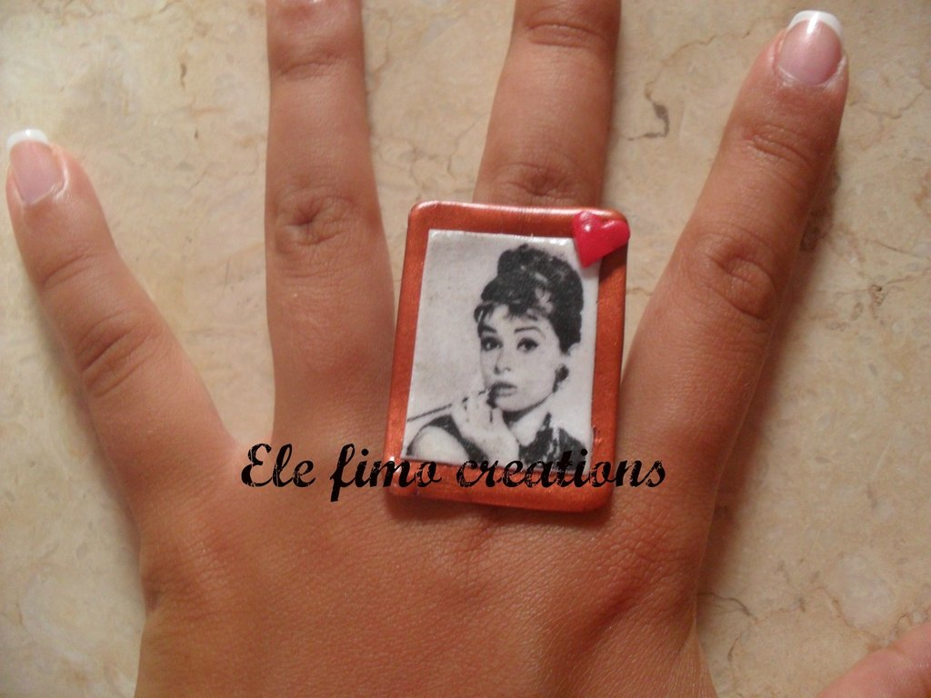 Anello Audrey Hepburn