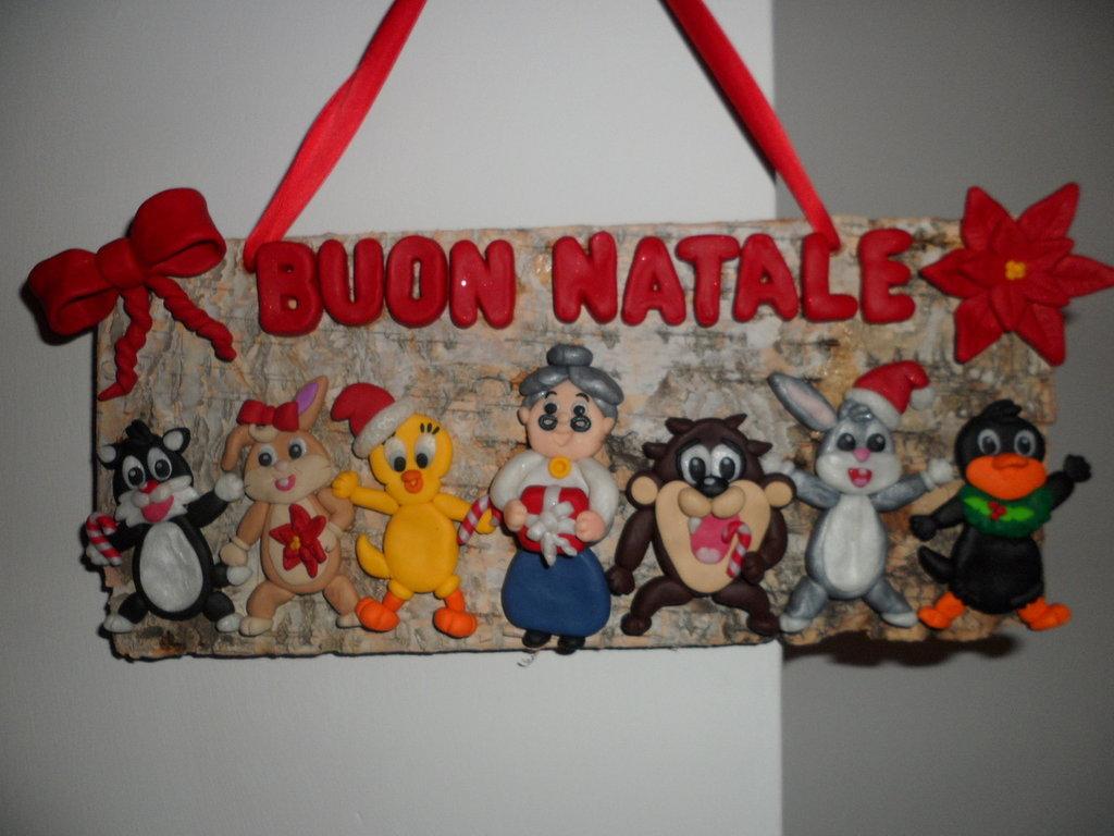 Fuoriporta natalizio con Baby Looney Tunes