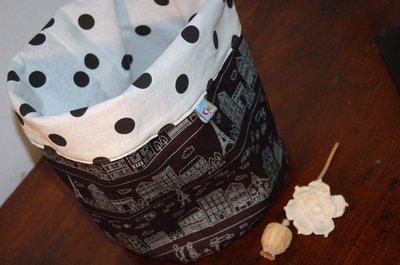 Io amo i cestini di stoffa !!