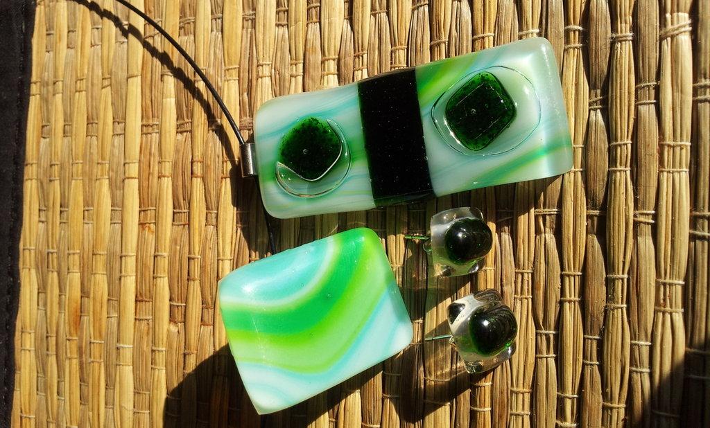 NOVITÁ - Set Occhio verde