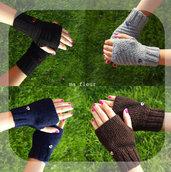 CUPIDO guanti senza dita
