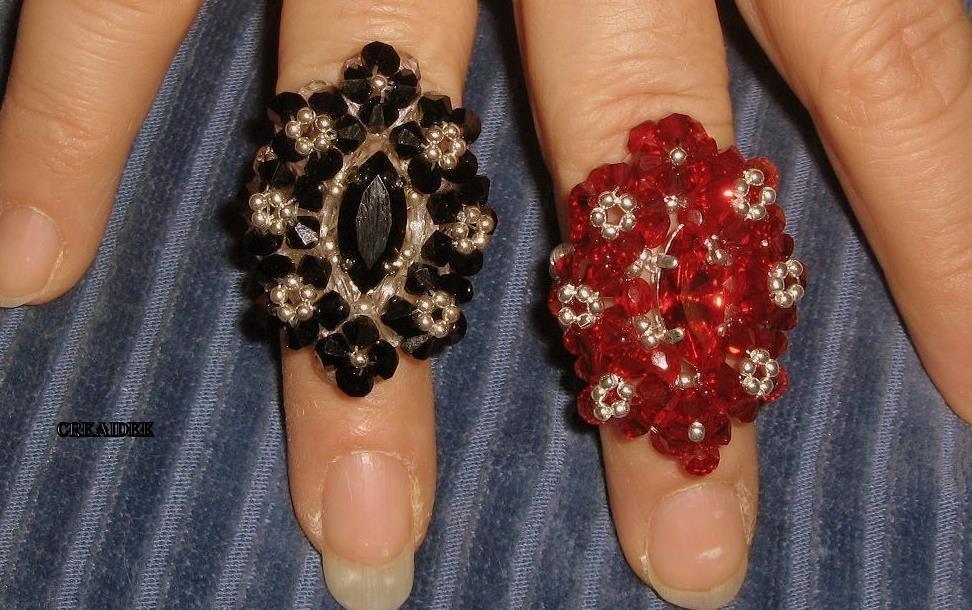 anelli di swarovski