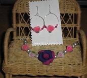 bijoux con perle di fimo