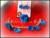 """Parure """"Blue Rose"""""""