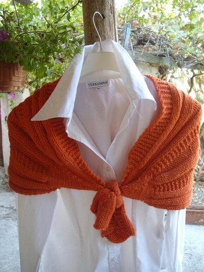 coprispalle di lana