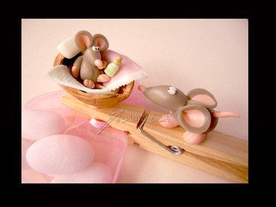 bomboniera segnaposto topolini